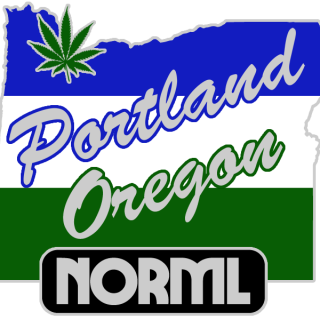 Portland NORML logo!