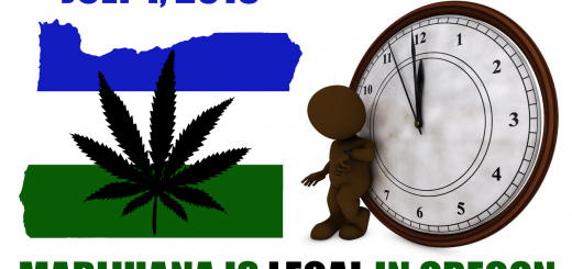 Marijuana Legal in Oregon