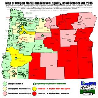 Oregon Marijuana Market Legality